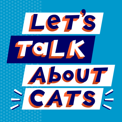 let's talk about cats logo